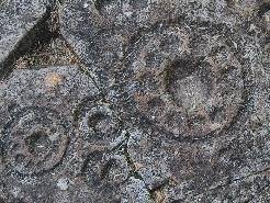 5000 year old Cup & Ring carvings near Crinan