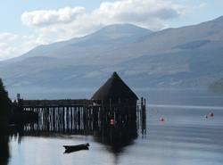Crannogs making a come back on Loch Tay