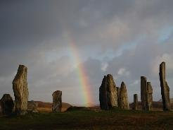 Standing stones at Calanais, Isle of Lewis
